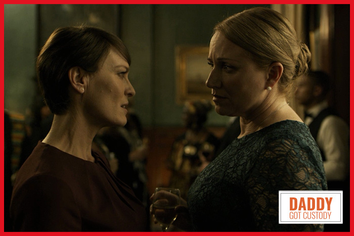 House of Cards Claire Underwood Confronts Israel Ambassador