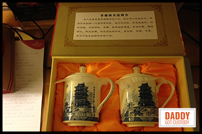 Tea Cups from China
