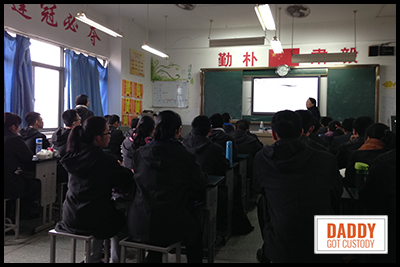 Typical Chinese Classroom