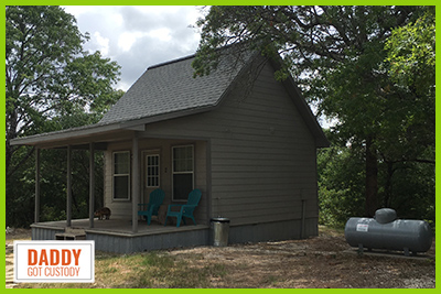Nice two-story 256 sq. ft. cabins